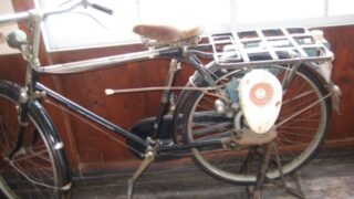 BSモーター付き自転車(恵那市明智回想法センター)